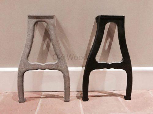 tafelpoten New Orleans zwart grijs