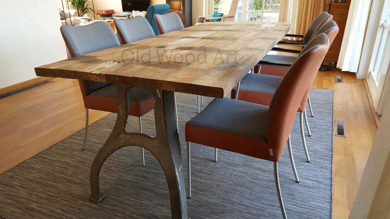 tafel spantzijde boven