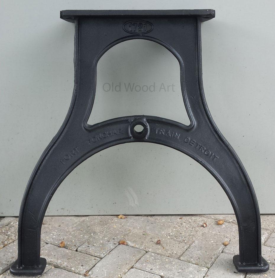 tafelpoten Detroit zwart product