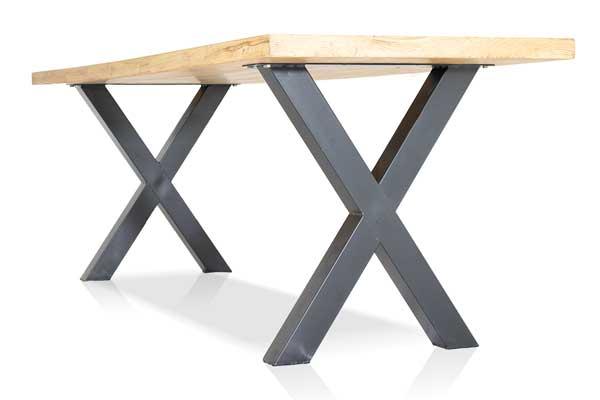 x-poot tafel industrieel